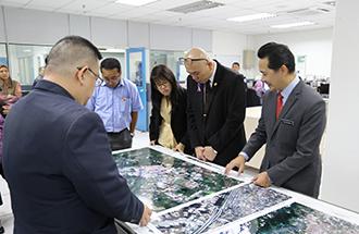 lawatan jawatankuasa pilihan pejabat daerah dan tanah (jp-padat) dewan negeri selangor perkukuh hubungan dengan agensi angkasa malaysia (mysa)